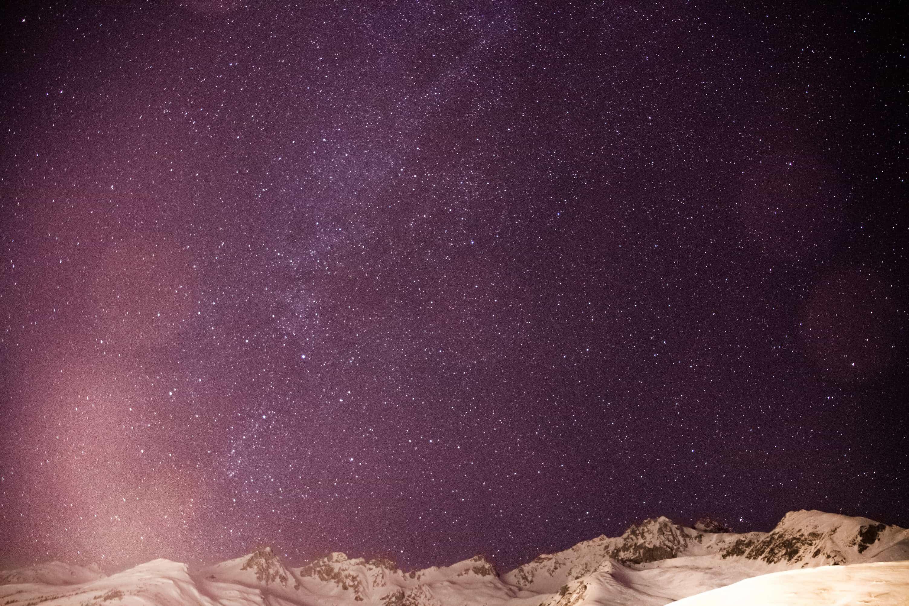 Randonnée raquette nocturne