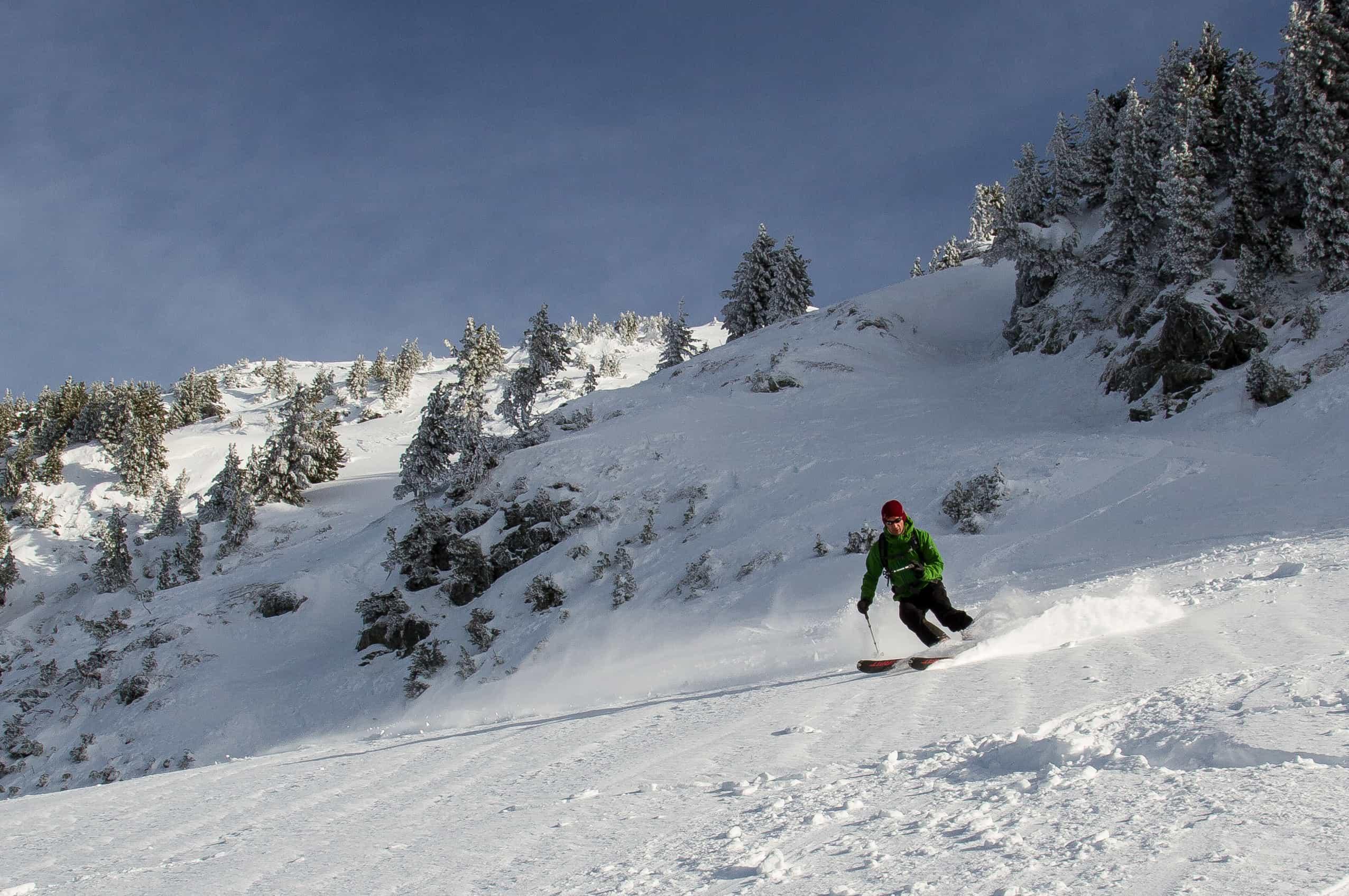 ski hors piste à chamrousse