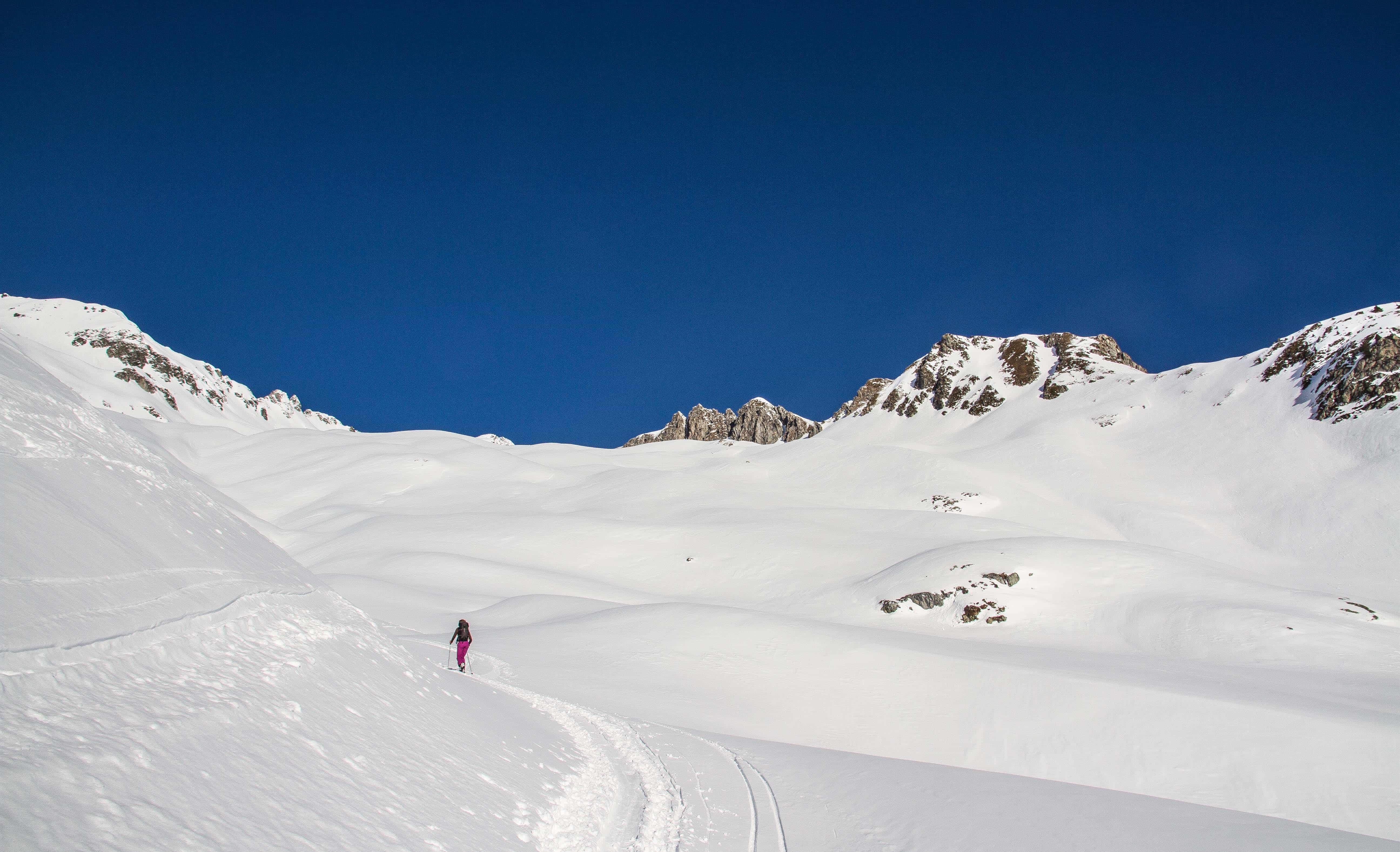 ski de rando en Lauziere
