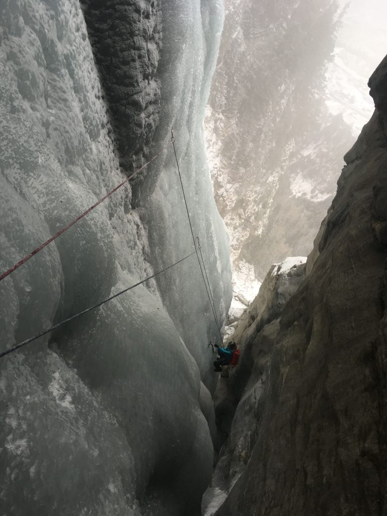 La belle longueur canyon du Chatel